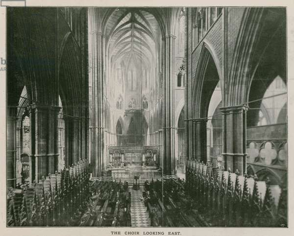 Interior of Westminster Abbey (photo)