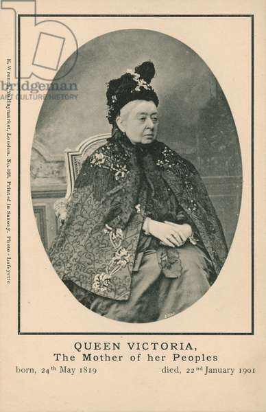 Queen Victoria, the mother of her peoples (photo)