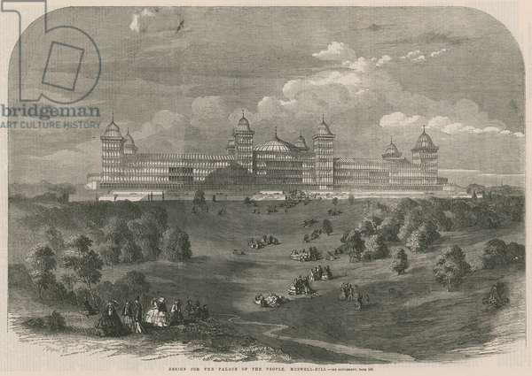 Design for the Palace of the People (engraving)