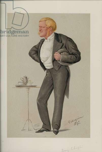 Henry Chaplin (colour litho)