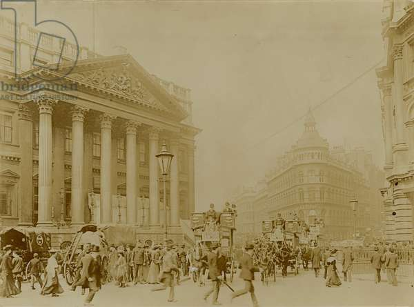 Mansion House, Queen Victoria Street, London (photo)