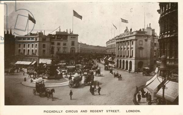 Piccadilly Circus and Regent Street, London (photo)