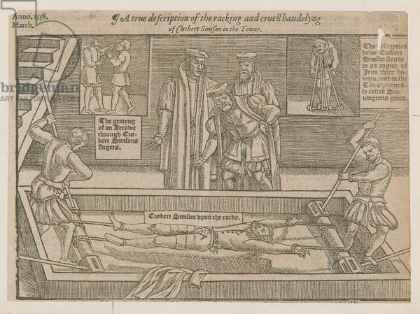 The Torture of Cuthbert Simson (engraving)