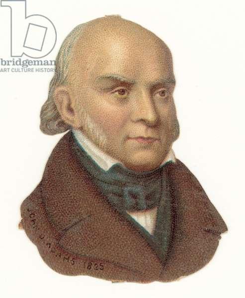 John Quincy Adams (chromolitho)