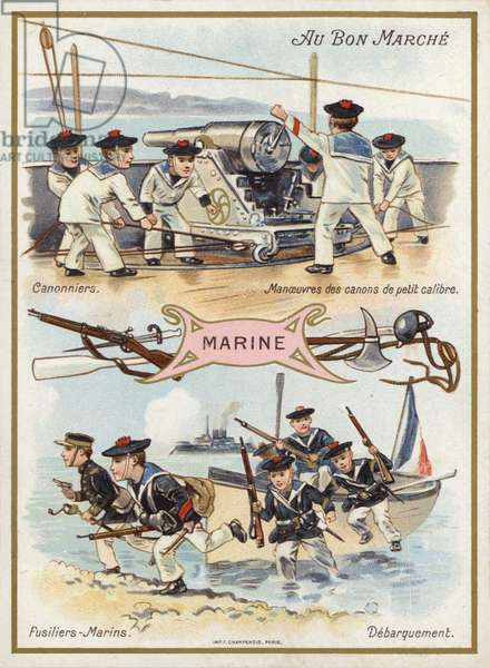 Marine (chromolitho)