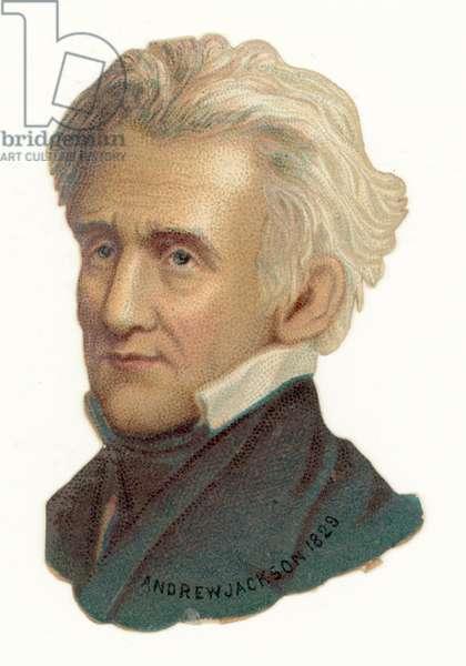 Andrew Jackson (chromolitho)