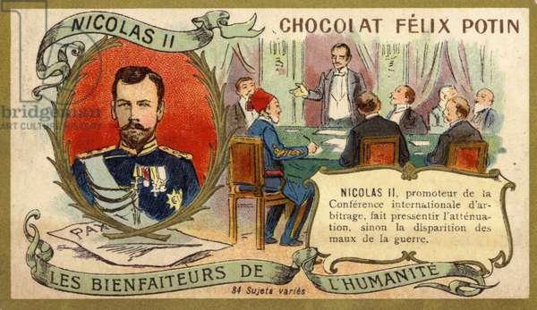 Czar Nicholas II (chromolitho)