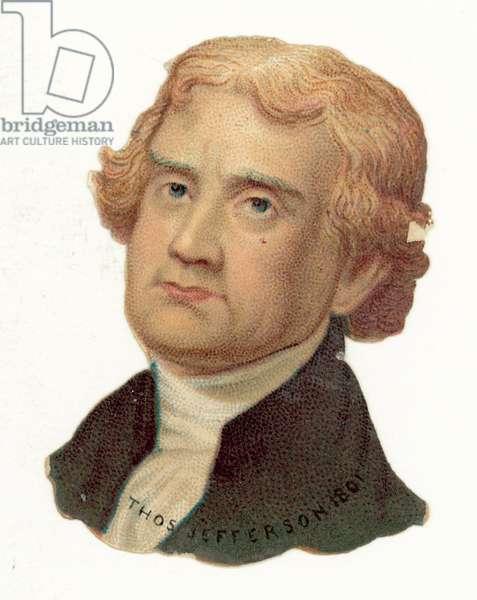 Thomas Jefferson (chromolitho)