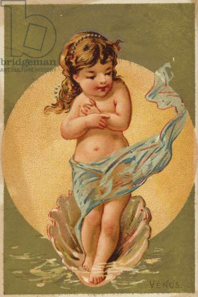 Child Venus (chromolitho)