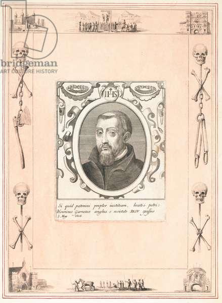 Henry Garnet, executed for the Gunpowder Plot, 3 May 1606 (engraving)