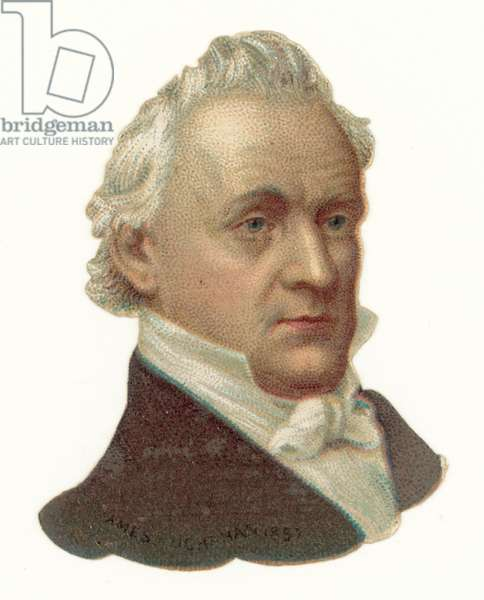 James Buchanan (chromolitho)