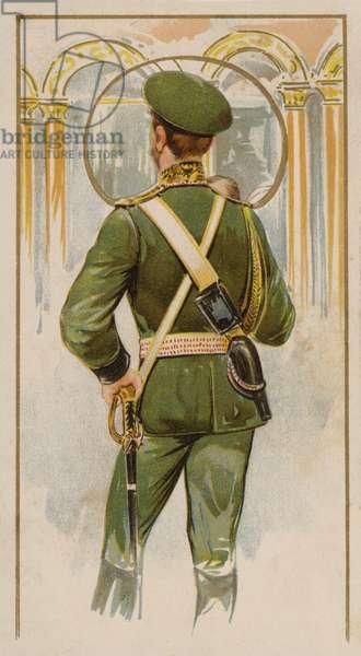 Tsar Nicholas II of Russia (chromolitho)