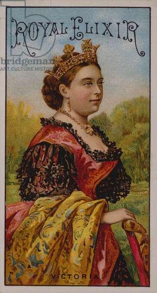 Royal Elixir, Queen Victoria (chromolitho)