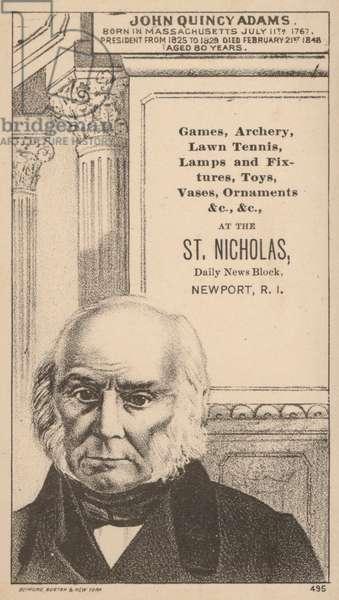 John Quincy Adams (litho)