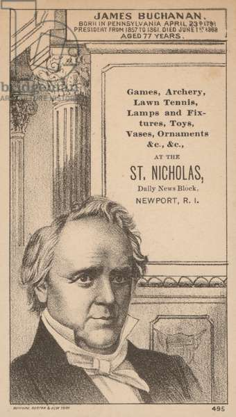 James Buchanan (litho)