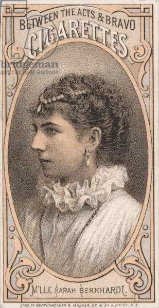 Sarah Bernhardt (chromolitho)