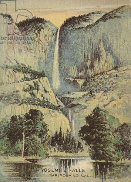 Yosemite Falls (chromolitho)