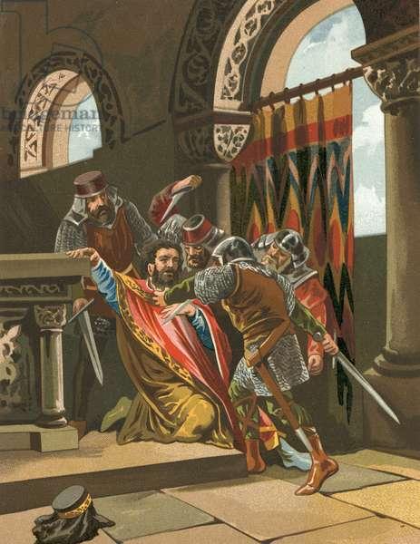 Death of Hermenegildo