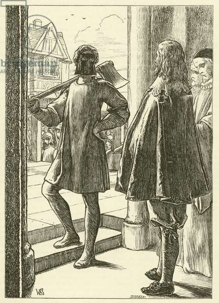 Execution of King Charles I (engraving)
