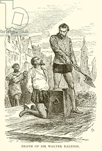 Death of Sir Walter Raleigh (engraving)
