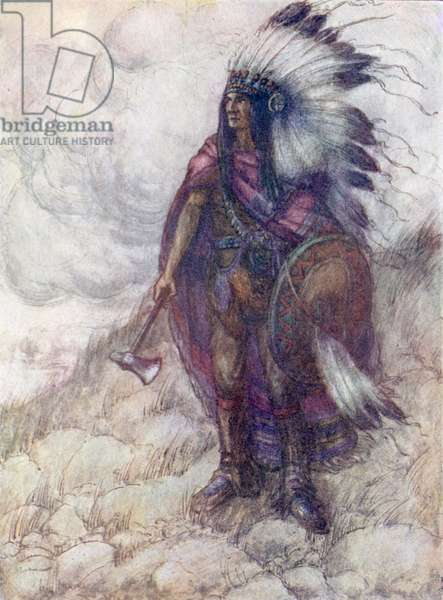 Great Big Little Panther, Chief of the Red Skins (colour litho)