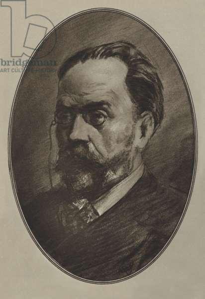 Emile Zola (litho)