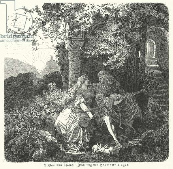 Tristan and Isolde (engraving)