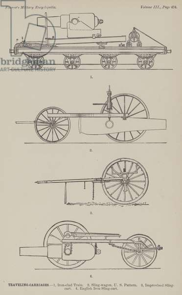 Traveling Carriages (engraving)