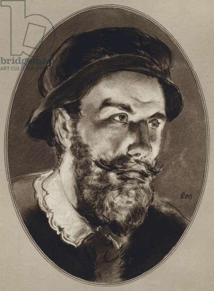 Portraits of Famous Men: Benvenuto Cellini (litho)