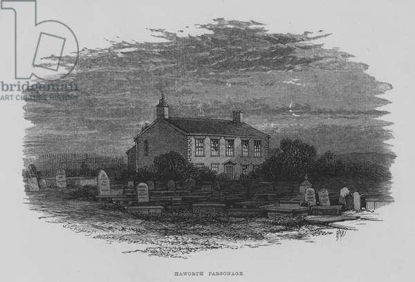 Haworth Parsonage (engraving)