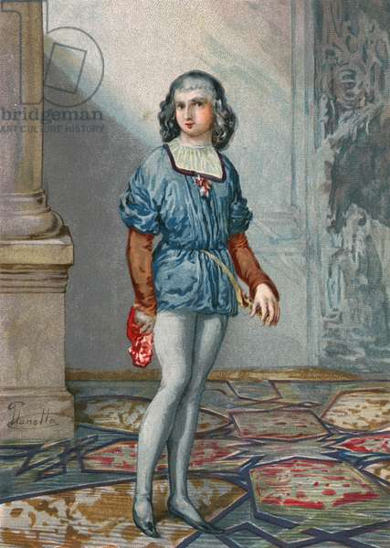Ferdinand Columbus, second son of Columbus