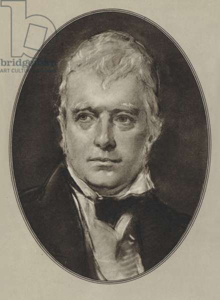 Sir Walter Scott (litho)