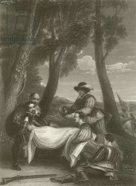 The Death of Sir Philip Sidney (engraving)