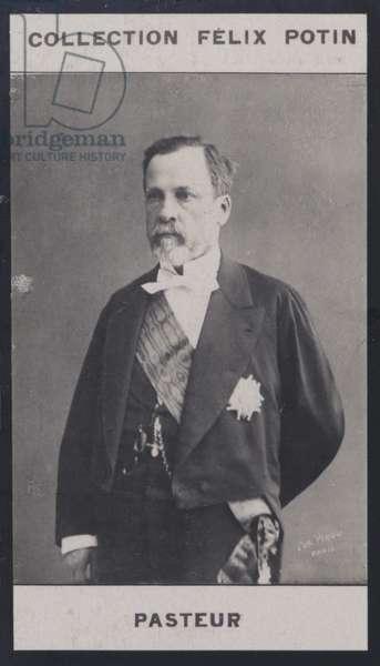Louis Pasteur (1822-1895) (b/w photo)