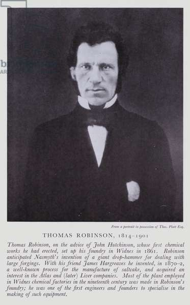 Thomas Robinson (b/w photo)