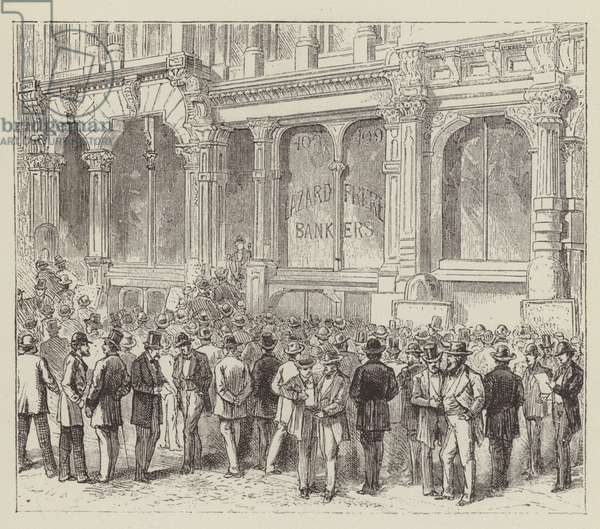 Financial Speculation (engraving)