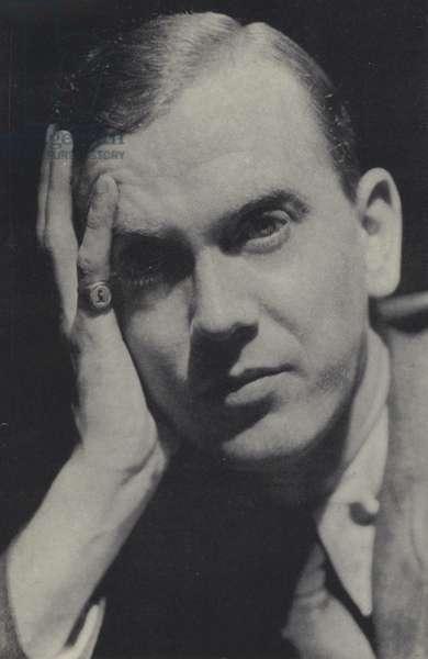 Graham Greene (b/w photo)