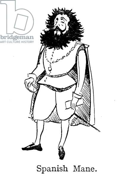 The Spanish Mane, singed by Sir Francis Drake (lithograph)