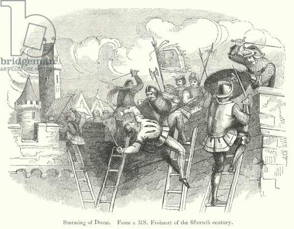Storming of Duras (engraving)