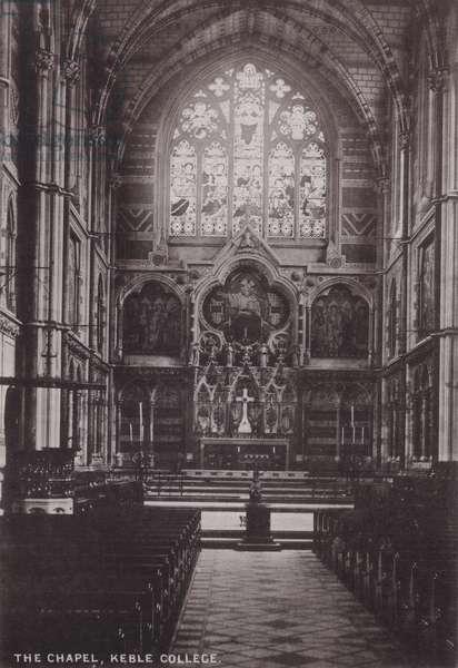 The Chapel, Keble College (b/w photo)