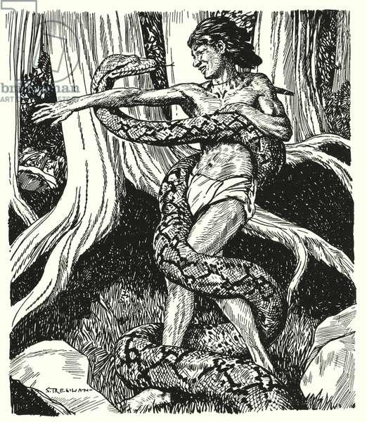 The King's Ankus (litho)