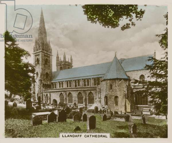 Llandaff Cathedral (coloured photo)