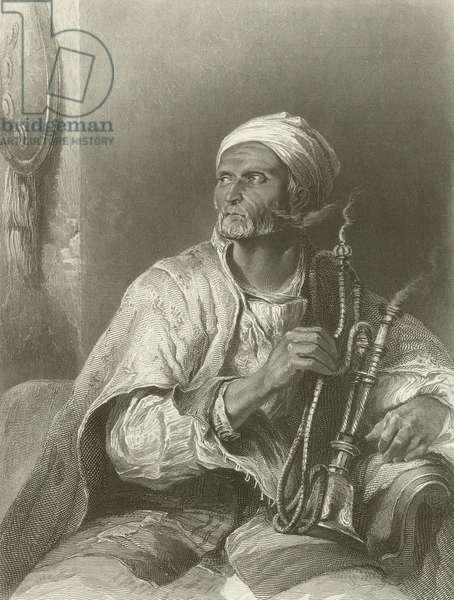 The Hooka-Badar (engraving)