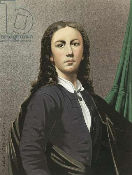 Raphael as a young man (chromolitho)