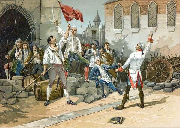 Popular rebellion in the Paris of the Revolution