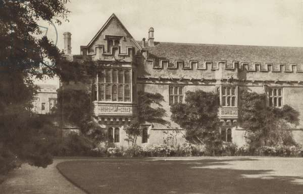 St John's College (b/w photo)