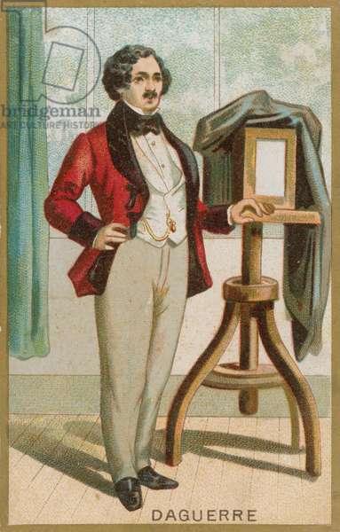 Louis Daguerre (chromolitho)