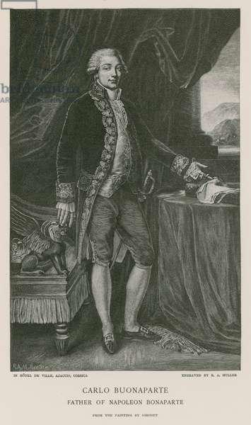 Carlo Buonaparte (engraving)
