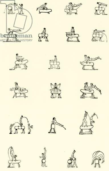 Gymnastics (engraving)