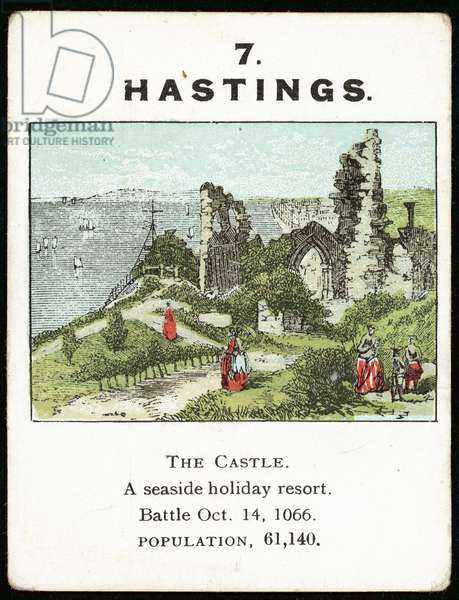 Hastings (colour litho)